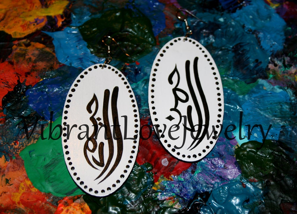 """Image of """"God's Compassion & Mercy"""" Earrings!"""