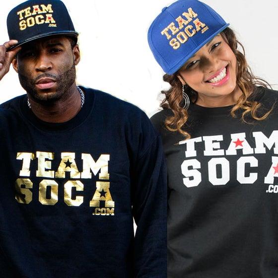 Image of TeamSoca.com Crewneck Sweatshirt