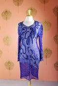 Image of Embellished Silk Dress