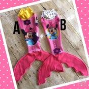Image of Minnie Mermaid Doll Blanket