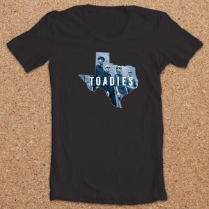 Image of Toadies : Texas Band Shirt