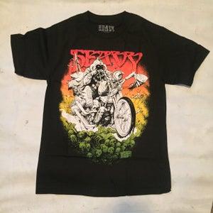 Image of re-issue PHENO-BARBARIAN! tee shirt