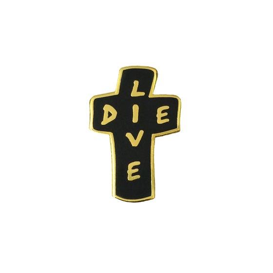 Image of Live/Die Lapel Pin