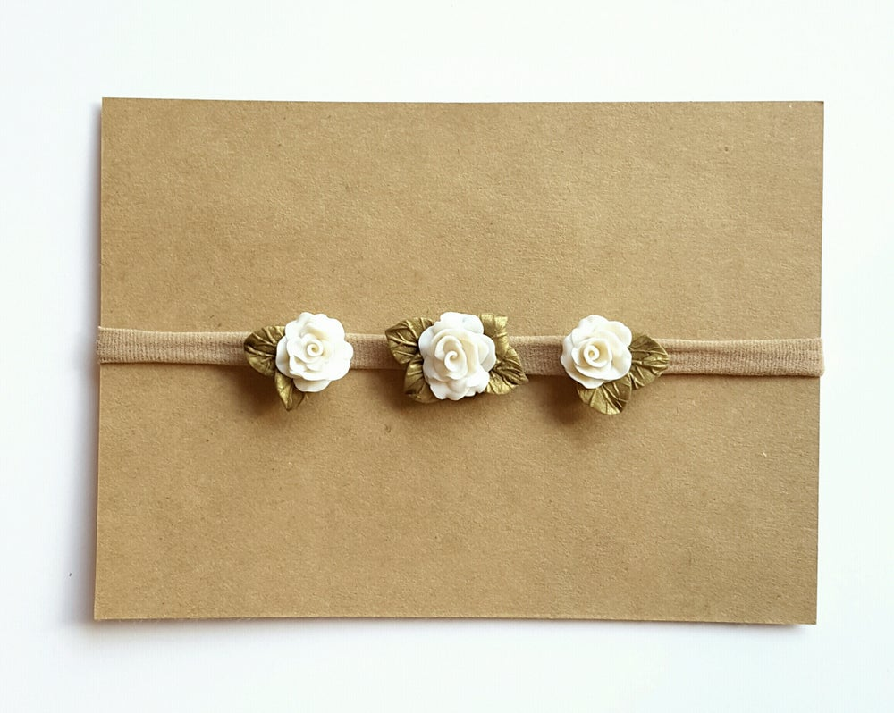 Image of Cream Blossom Trio