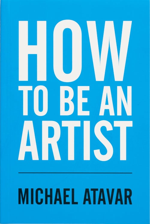 Image of How To Be An Artist