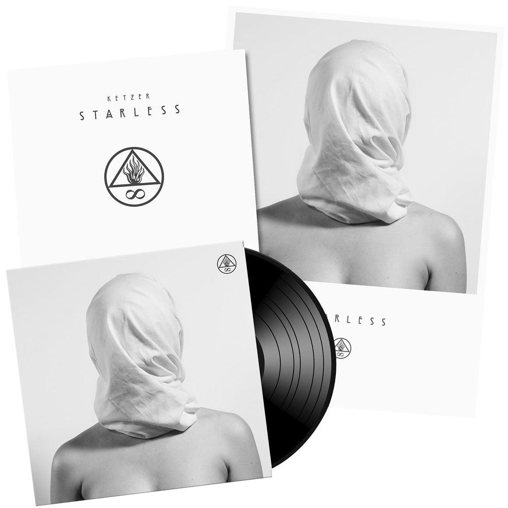 "Image of Starless 12"" LP Black/ White/ Gold"