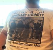 Image of Palestinian Homeland Security Tshirts & Hoodies