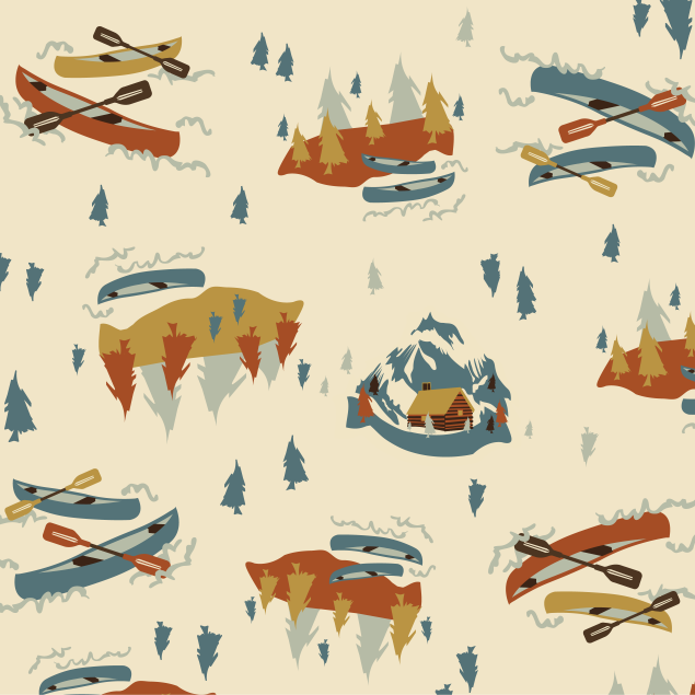 Image of Outdoor Adventures Fabric Collection
