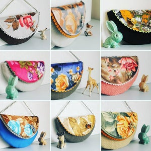 Image of HalfMoon Clutch Bag Workshop - Long Eaton Art Room- 12.03.2016