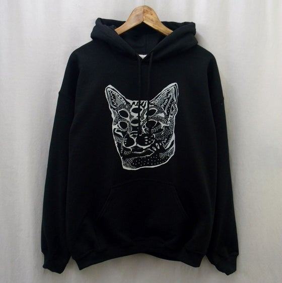 Image of Trans-dimension acid cat hoodie