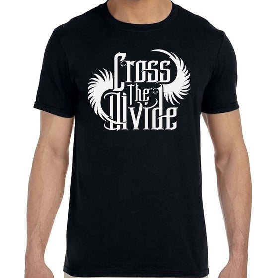 Image of Cross the Divide - NEW Logo Tee