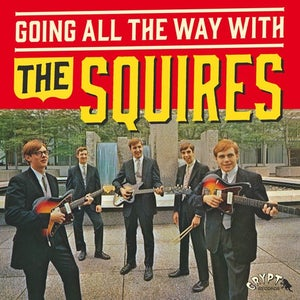 """Image of LP+7"""" The Squires : Going All The Way With. Completely revised edition."""