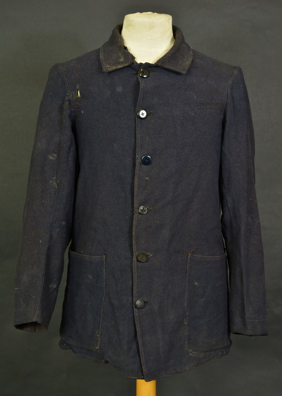 Image of 1900'S FRENCH work woolen jacket