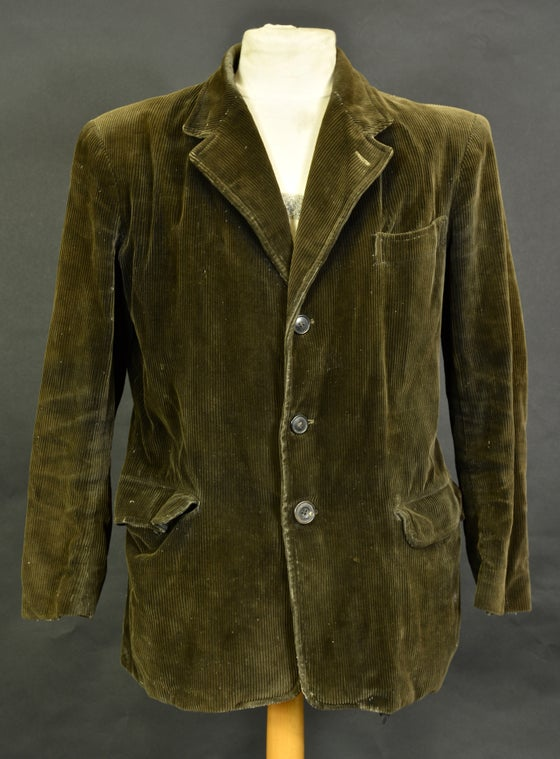 Image of 1940'S FRENCH hunting work corduroy BLAZER