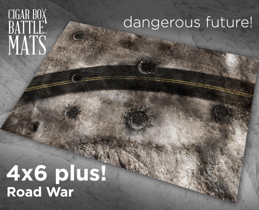 Image of Road War -- 4' x 6' PLUS -- #260