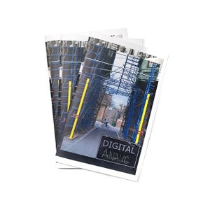 """Image of """"Digital Analog"""" Zine by Kyle Richards-Connolly"""
