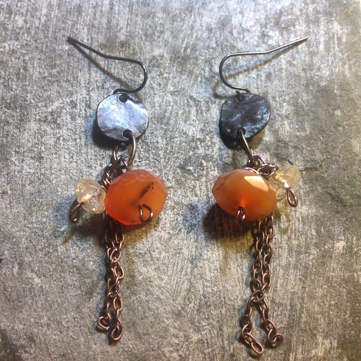 Image of Personal Power Success ~Copper and Carnelian and Citrine
