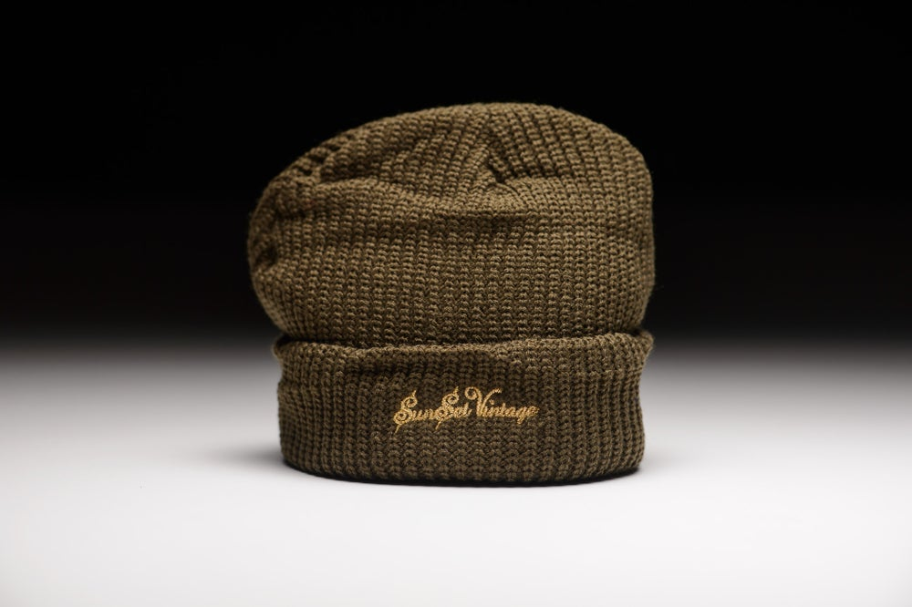 Image of GRIME Short Beanie - Olive