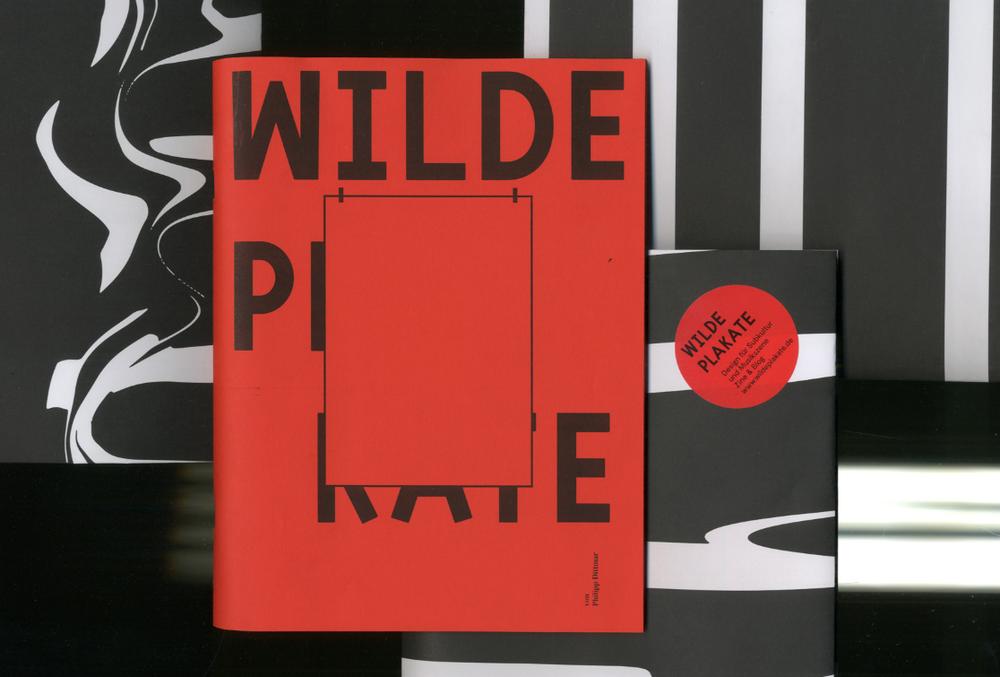 Image of wilde plakate – zine