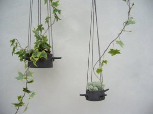 Image of Hanging Flower Pot Four Horns