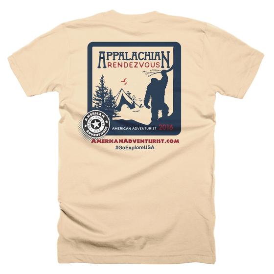 Image of Appalachian Rendezvous 2016 T-Shirt