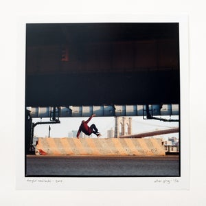 "Image of taylor nawrocki - layback wallie - 12"" x 12"" chromogenic print"