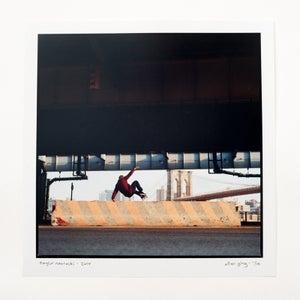 "Image of taylor nawrocki - layback wallie - 12"" x 12"" chromogenic print"