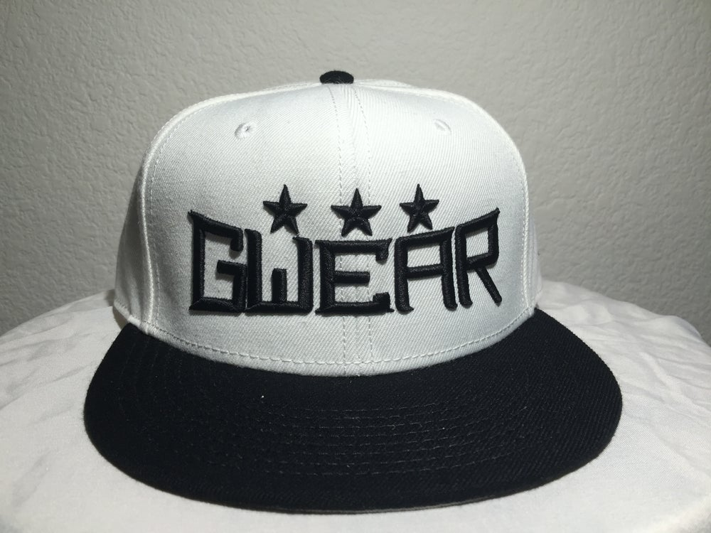 Image of White 3Star Snapback