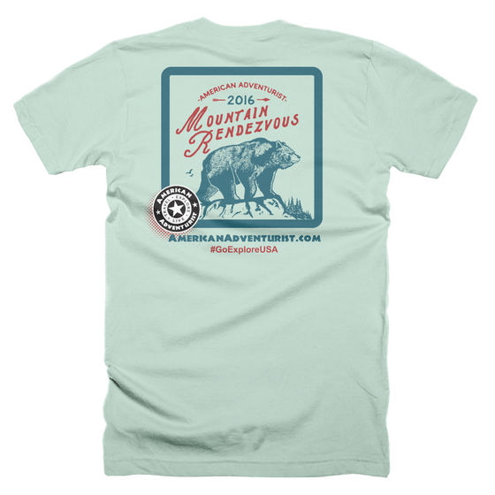Image of Mountain Rendezvous 2016 T-Shirt
