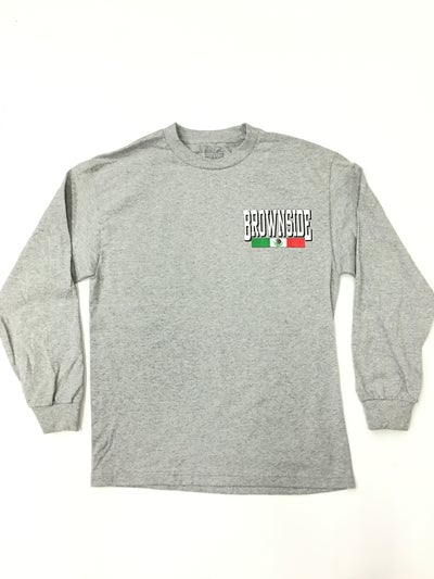 Image of Brownside logo long sleeve
