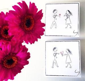 Image of Valentineskort