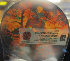 Image of PHAROH CHROMIUM Chromosphere Pic Disc UK LP GPS Deep Distance DD36