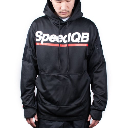 Image of SpeedQB Tech Hoodie (Black)