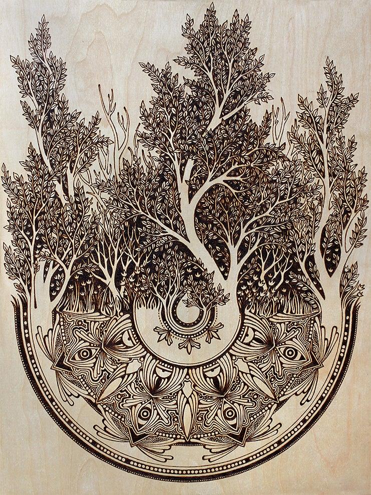 Image of Silvan Original Wood Burning