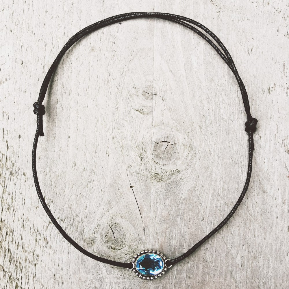 Image of Blue Choker - LIMITED