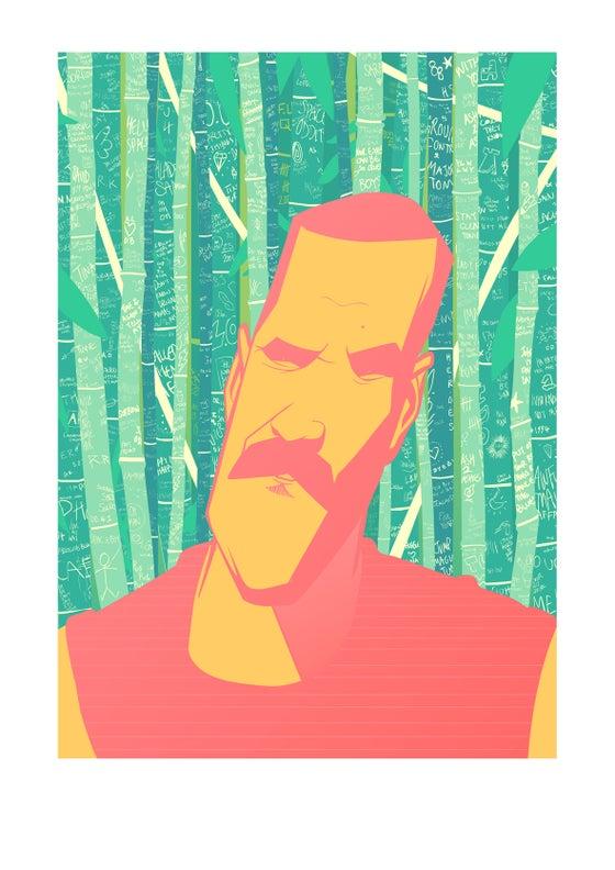 Image of Print: Brett