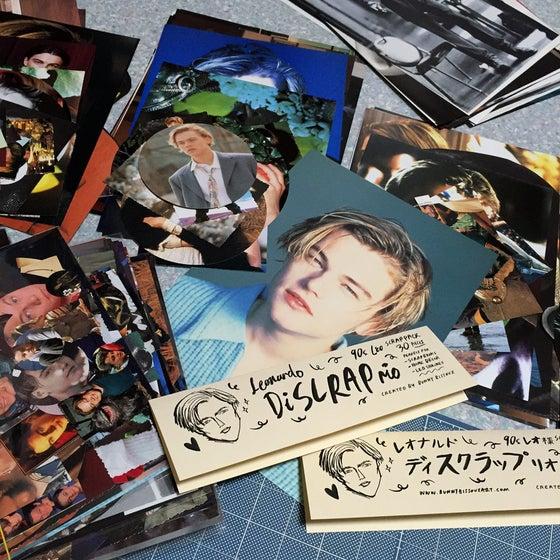 Image of 「LEONARDO DISCRAPRIO」 ♥︎ 90s LEO DICAPRIO PAPER SCRAP PACK