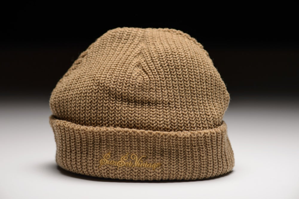 Image of GRIME Short Beanie - Creme
