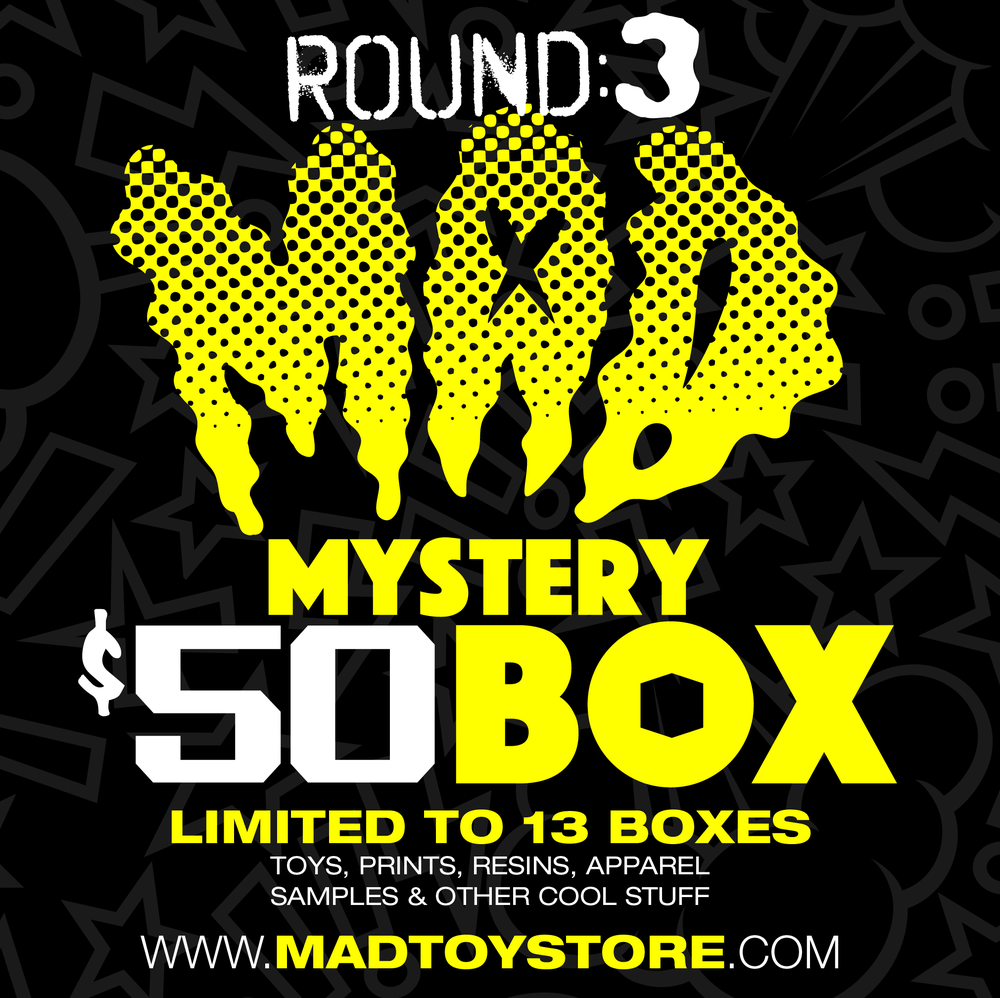 Image of MAD Mystery $50 BOX (Round 3)