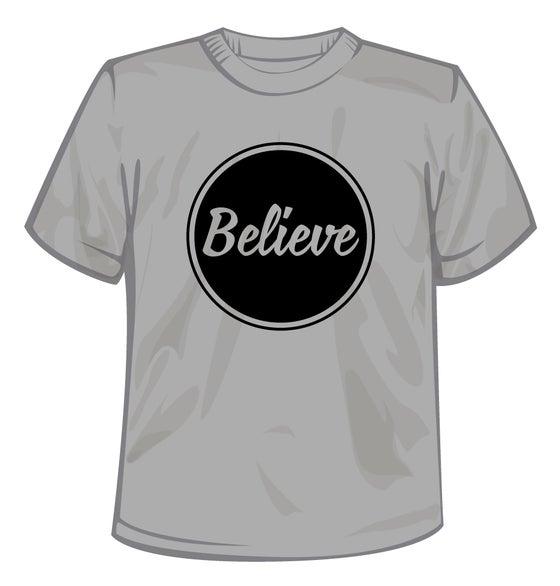 Image of Believe Logo T-Shirt Black