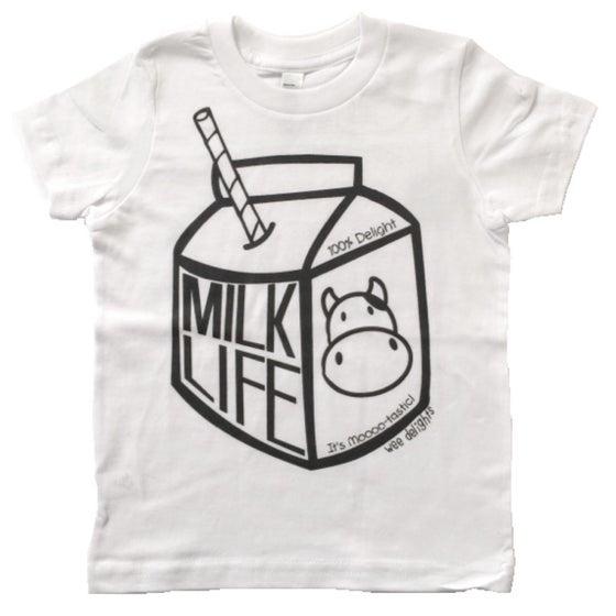 Image of MILK LIFE - Toddler Tee