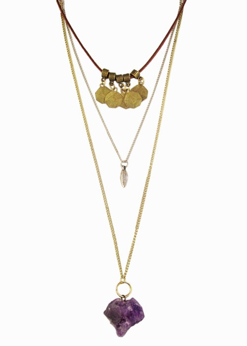 Image of Hensley Layered Necklace   - SALE!