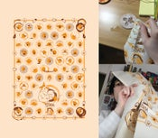 Image of Cafe Suada Screenprinted Teatowel