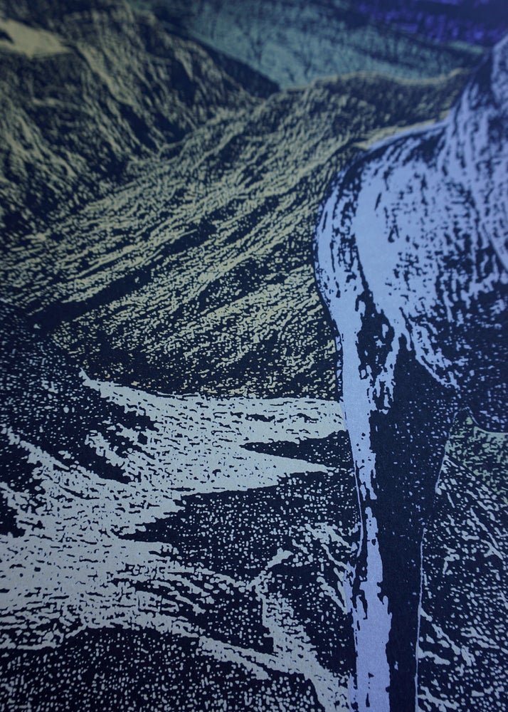 Image of 'the valley' print