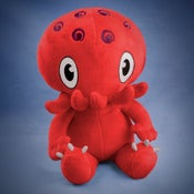 Image of Red Cthulhu plush - AWESOMENESS SALE!