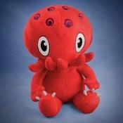 Image of Red Cthulhu plush