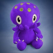 Image of Purple Cthulhu plush