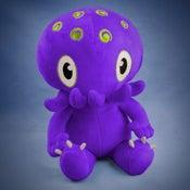 Image of Purple Cthulhu plush