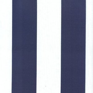 Image of FF Navy Blue and White Outdoor Fabric