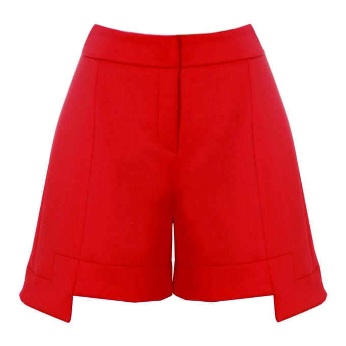 Image of Belly Shorts| Red